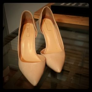 Nude Aldo pumps